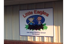 - Architectural Signage - Rigid Signage - Oak Harbor Christian School Pre-School - Oak Harboar, Wa